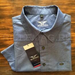 Рубашка джинсовая Montana (11066)